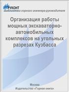 Организация работы мощных экскаваторно-автомобильных комплексов на угольных разрезах Кузбасса