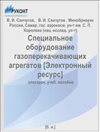 Специальное оборудование газоперекачивающих агрегатов [Электронный ресурс]