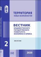 Территория новых возможностей. Вестник Владивостокского государственного университета экономики и сервиса