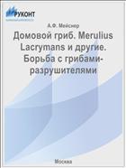 Домовой гриб. Merulius Lacrymans и другие. Борьба с грибами-разрушителями